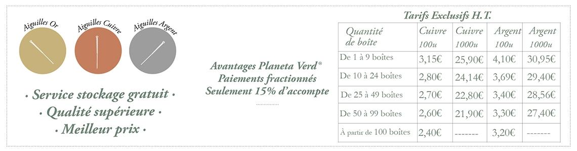 Agujas de acupuntura