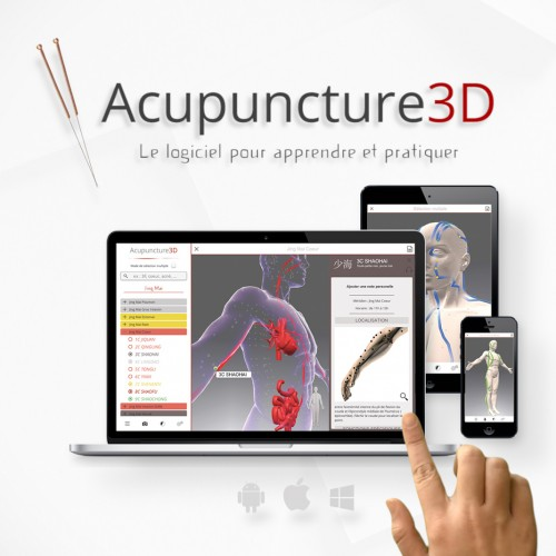 "Software """"Acupuntura 3D"""""