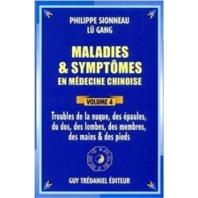 Maladies et Symptômes - nuque, épaule - Vol 4