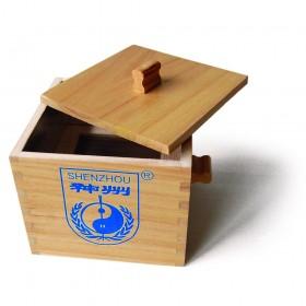 Caja de madera para moxa suelta