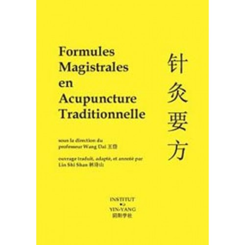 Formules magistrales en acupuncture...