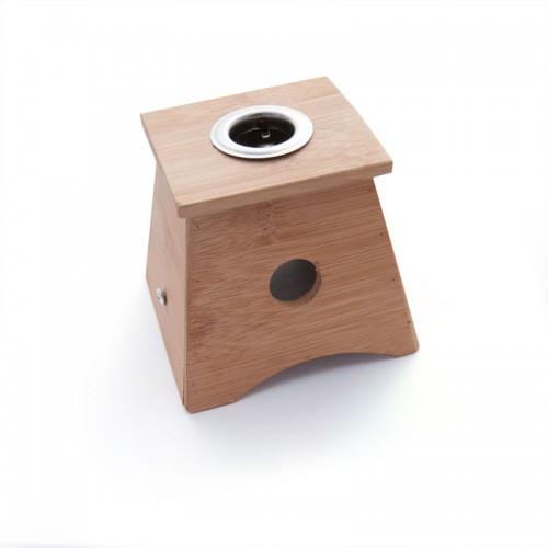 Caixa de Moxa de bambú amb 1 forat - per cigar